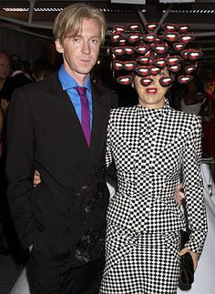 Phillip Treacy and Isabella Blow