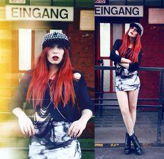 CLUB EINGANG (by Masha Sedgwick) http://lookbook.nu/look/4207479-CLUB-EINGANG