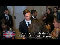 Benedict Cumberbatch Britannia Awards. It's so funny to watch the interviewers fangirl like the rest of us :-)