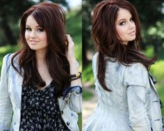 I love this hair color for the fall/winter season