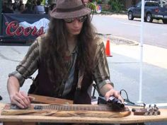 Justin Johnson Plays Cigar Box Guitars at the Hy 61 Road House in Webster Groves Missouri