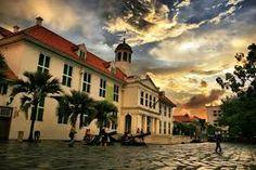 Kota Tua Jakarta, selain Monas, kotu juga menjadi saksi sejarah dari Indonesia. #PINdonesia