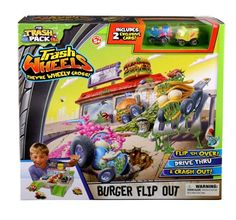 """The Trash Pack Trash Wheels /""""Muck Mover/"""" Play-Set NEW IN Package BY Moose Toys"""