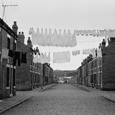 From 1969 to 1972, photographer Nick Hedges took pictures of life in Leeds, England.