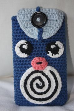 Poliwag / Quapsel - Crochet Pokemon - phone case
