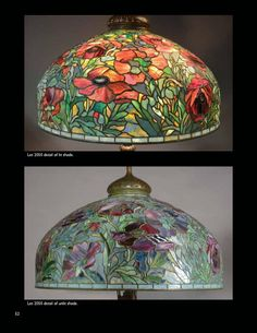 Treasures of Louis C. Tiffany from the Garden Museum, Part 2 by Michaan's Auctions - issuu Tiffany Art, Tiffany Glass, Stained Glass Patterns, Stained Glass Art, Leaded Glass, Beveled Glass, Stained Glass Lamp Shades, Chandelier Pendant Lights, Crystal Chandeliers