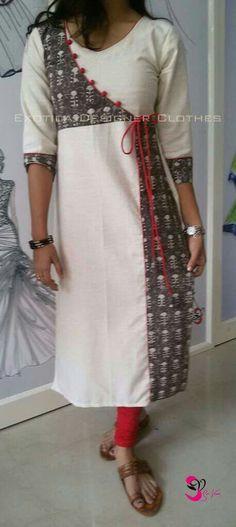 Kurti Neck Designs, Kurta Designs Women, Kurti Designs Party Wear, Blouse Neck Designs, Salwar Pattern, Kurta Patterns, Dress Patterns, New Suit Design, Kurti Sleeves Design