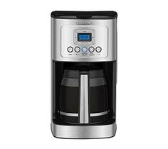 nice Cuisinart DCC-3200 14-Cup Glass Carafe with Stainless Steel Handle Programmable Coffeemaker