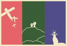 Test your Ghibli knowledge: Can you identify the films by these minimalist fan-madeposters?