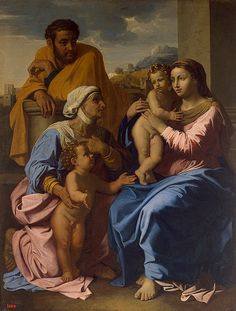 Holy Family with St. Elizabeth and   St. John the Baptist, 1644-55;   The State Hermitage Museum,   St. Petersburg, Russia