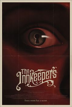 The Innkeepers poster by Akiko Stehrenberger.