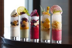 5 Different Shaved Ice from InterContinental Tokyo