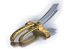 KNIFE REST GOLD