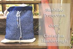 Gratis patroon: Sashiko Projecttas – A Spoonful of Yarn
