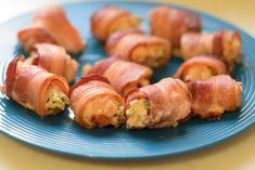 Chicken bacon rollups