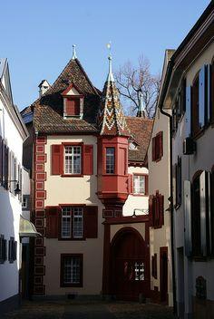 Rittergasse, Basel, Switzerland