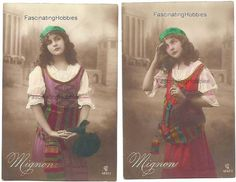 1914  MIGNON's Musical OPERA   set of 6 par FascinatingHobbies