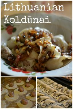 Lithuanian Koldūnai | Meat Dumplings (Recipe). Also known as virtiniai, koldunai are small dumplings similar to ravioli or Polish Pierogi.