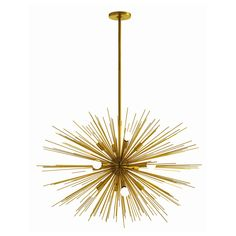 Zanadoo Large Chandelier by Arteriors.  Reminds me of how I would draw the sun as a child.  Love this!!! -ac