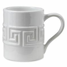 Happy Chic by Jonathan Adler Elizabeth Greek Key Mug - jcpenney