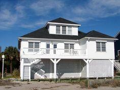 Edisto Realty - Seagull II - Beachfront - Edisto Island, SC