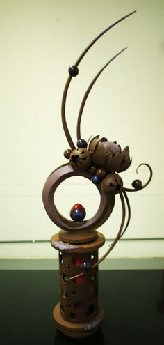 ** Chocolate Showpiece