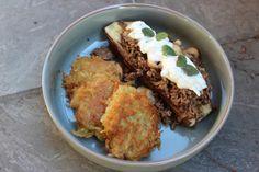 img_4484 Chicken, Meat, Food, Potato Latkes, Gluten Free Recipes, New Recipes, Mushrooms, Healthy Recipes, Easy Meals
