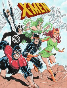 70s X-Men - Cal Slayton