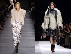 What is Winter without shearling? - Isabel Marant, Sacai