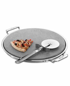 All-Clad Pizza/Baking Stone with Pizza Cutter BUY NOW!