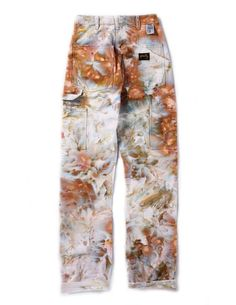 Painter's Pants in Ivory White Bleach Tie Dye, Tye Dye, Tie Dye Pants, Fashion Outfits, Fashion Tips, Dope Fashion, Fashion Pants, Swag Fashion, Fashion Quotes