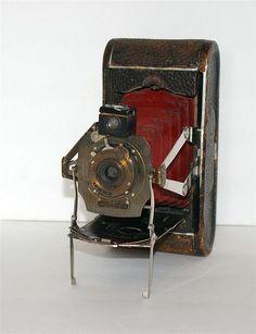 Antique No 1A Folding Pocket Kodak 19051912 by CanemahStudios, $45.00