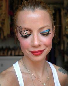 Maquiagens de carnaval da Julia Petit. http://www.feminices.blog.br/makes-de-carnaval-da-julia-petit/