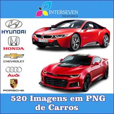 Kit Carros PNG 520 Imagens