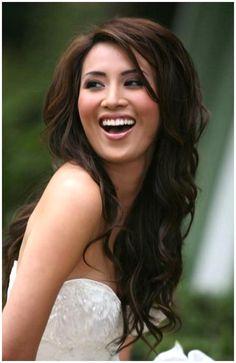 Asian Bridal Hairstyles for Long Hair Wallpaper HD