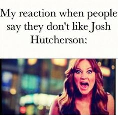 Well I have yet to meet someone who doesn't like him, but when I do, this WILL be my face.