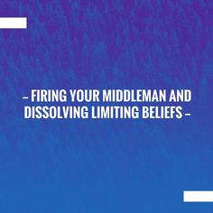 Take a breather and catch up with my blog💥 Firing Your Middleman and Dissolving Limiting Beliefs https://www.prevolving.com/firing-your-middleman-and-dissolving-limiting-beliefs/?utm_campaign=crowdfire&utm_content=crowdfire&utm_medium=social&utm_source=pinterest