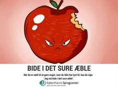 Bide i det sure æble