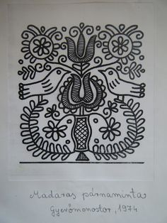 Folk idea Hungarian Embroidery, Folk Embroidery, Machine Embroidery Designs, Embroidery Stitches, Embroidery Patterns, Soutache Pattern, Heirloom Sewing, Lace Fabric, Needlepoint