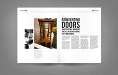 Mono Magazine by David McGillivray, via Behance