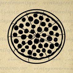 Pizza Printable Image Graphic Download Pizza Illustration