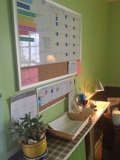 How did I ever live without a whiteboard in my home office?!