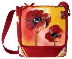 Bei deiner Tasche *Mohnblumen* von *leolini* sind dir die Blicke gewiss!  :$130.00 facebook.com/leolini.at    leolini.at