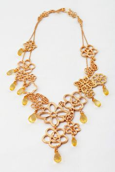 Retro Perforated Nacklace