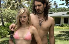 Forgetting Sarah Marshall  Dumped by the hottest actress on TV (Kristen Bell), distraught composer Peter (Jason Segel) heads to Hawaii to put her out of his mind. Unfortunately paradise turns to purgatory as who should be staying at the same resort but Sarah and her new boyfriend, preening Britpopper Aldous Snow (Russell Brand).