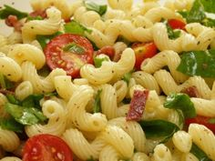 Easy Summer-y Pasta Salad Recipe -