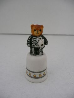 Enesco Lucy Rigg Halloween Teddy Bear by SimplyElegantVintage