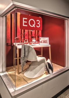 https://flic.kr/p/ANEcVH | Visual Merchandising Arts - EQ3 Window Displays | Visual Merchandising Art students Collaborated with EQ3 to create a series of interior decor window displays. EQ3 is offering all Seneca students, friends and family a 10% discount online and in-store. Use the promo code SENECA10 until December 13th 2015. Happy Shopping! www.eq3.com