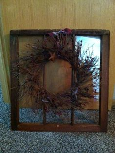 Primitive Wreath and Window! <3