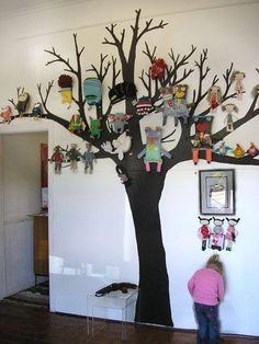 Soft toy tree